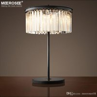 Crystal Table Lamp Vintage Good Quality Desk Light Fixture F...