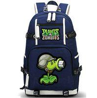 Gatling Pea backpack Plants vs Zombies day pack PVZ game school bag الترفيه packsack الجودة حقيبة الظهر الرياضة المدرسية daypack