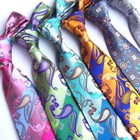 2018 Man' s Fashion Accessories Paisley Ties For Men Cla...