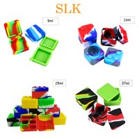 Square silicon box non- stick silicone container wax box colo...