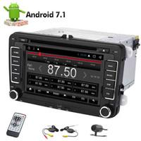 무선 백업 카메라 Eincar 안드로이드 7.1 8 코어 자동차 DVD 플레이어 2 Din GPS를 스테레오 라디오 비디오 수신기 대쉬 내비게이션 자동 라디오