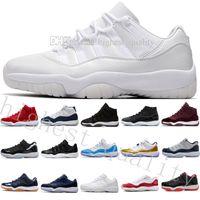 Com Caixa 11 PRM Herança Preto Stingray Ginásio Vermelho GANHAR COMO 82 96 Espaço Jam 45 Homens Sapatos de Basquete 11 s Tênis Esportivos mulheres EUA 5.5-13