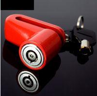 مكافحة سرقة دراجة نارية قرص الفرامل سلامة قفل دراجة إكسسوارات دراجات أقفال قرص الفرامل ركوب الدراجات مع 2 مفاتيح
