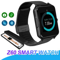 Z60 Bluetooth Smart Watch Stainless Steel Support SIM TF Car...