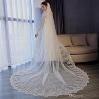 2018 Berta Chapel Wedding Veil Ivory White 3M Cathedral Leng...
