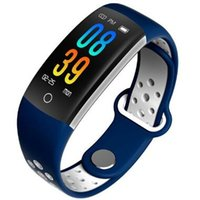 Q6 fitness smart bracelet heart rate blood pressure smart wr...