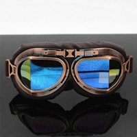 Retro Halle motorcycle country goggle Knight goggles riding ...