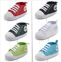 New Canvas baby Sport shoes Newborn Boys Girls First Walkers...
