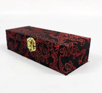 Porta cigarrillos Salix de 14,5 centímetros de mar, caja de regalo, caja de satén, caja de regalo de boquilla.