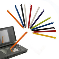 Stilo di ricambio colorato Schermo Touch Pen per NUOVO 3DS LL XL NUOVO 3DSLL 3DSXL Gioco Penna di plastica DHL FEDEX EMS SPEDIZIONE GRATUITA