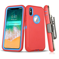 For Iphone Xs Max Defender Case 3in1 Soft TPU Bumper Hybrid ...