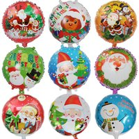 18 Inch Xmas Inflatable Air Ballons Helium Balloon Multi- col...