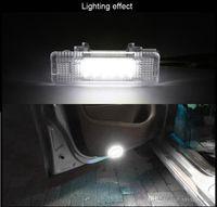 for BMW E81 E90 E60 E63 E65 Range Rover 2008 Plug and Play Easy Install White 12V 3528 18SMD Courtesy Door Lights Lamp