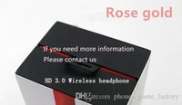 Factory direct sell so3 3. 0 Rose gold bluetooth headphones w...