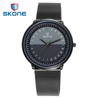 SKONE watch men' s wristwatches ultra thin watches for m...