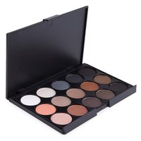 15 Color Eyeshadow Palette Professional eyeshadow palette ma...