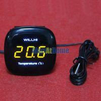 ARGEDE Thermomètre à LED numérique électronique Mbedded -30 ~ 300 Celsius DC9-30V AC 110 ~ 220V pour Aquarium, Réfrigérateurs, Aquaculture