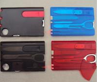 Открытый выживание красоты нож светодиодные карты швейцарские с Швейцарией инструменты многофункциональный нож световой карты кемпинг Ksqus