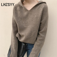 LHZSYY Autumn New Women' Cashmere Sweater Loose Large s...