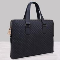Nouveaux sacs à main de haute qualité Designer Designer Brand Briefcases Tote Bags Hommes Porte-documents Casual Crocodile Leather Handbag Classic Bags