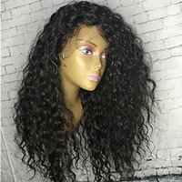 Glueless Full Lace Human Hair Wigs For Black Women 150% Braz...