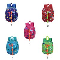 Toddler backpack harness reins strap walker cartoon dinosaur...