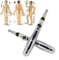 Pen Massagem Meridianos Pen Hot Selling Popular Energia Acupuntura Pen Meridian Therapy instrumento eletrônico, a Massager Saúde