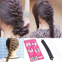 New Women Fashion Hair Styling Clip Stick Bun Maker Braid To...