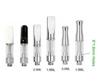 Ceramic Coil Vape Cartridges Pyrex Glass Vaporizer Pen Cartr...