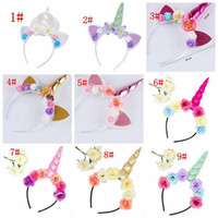Unicorn Headband Kids Unicorn Horn Hairband for Party DIY Ha...