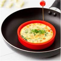 Großverkauf Freies Verschiffen 2020 Silikon-Ring Omelette Spiegelei Shaper Eier Form für Kochen Frühstück