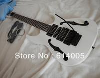 Frete grátis Top qulity Instrumentos musicais jem PGM guitarra cor branca Guitarra Elétrica em estoque