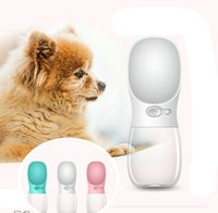 2018 350ML Portable Pet Care Cup Dog Waters Dispenser Leak P...