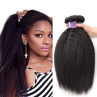 Unverarbeitete Brasilianische Haarbündel Peruanische Indische Malaysische Haarverlängerungen Körper Lose Tiefe Welle Lockiges Haar Weft Kinky Gerade