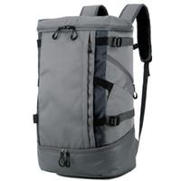 حقائب القماش الخشن حقيبة الظهر متعددة الوظائف - حقيبة ظهر رياضية رياضية