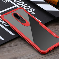 IPaky Case For Oneplus 6 Six 1+6 Transparent Clear Drop