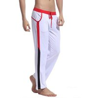 KWAN.Z Pijama Masculino Celos Pants Pyjama Mens Sheer Home Clothes Men's Pajamas Lounge Pants Pantalon Hombre Nightwear Man