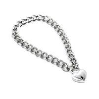 Collier épais en acier inoxydable cou anneau verrouillables BDSM Collier adulte Métal Sextoys pour femme, chaîne collier en métal avec Star Shape verrouillage Bandage