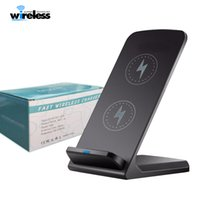 Desktop fast Qi Wireless Charger stand Wireless Charger Pad ...