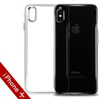 2018 IPhone X Custodia trasparente antiurto per IPhone X 8 Plus Custodia morbida in TPU trasparente Cover posteriore per IPhone Cover morbida