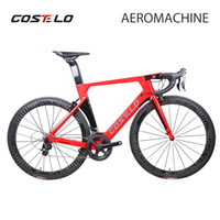 2018 Costelo AEROMACHINE MONOCOQUE one piece Carbon Road Com...