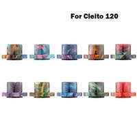 Красивые купить эпоксидную смолу клейте 120 капельного советы мундштуки с розничной коробке для Клейтесь 120 RDA электронный сигарета