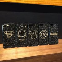 Custodia moda per iphone 8 plus Bling Laser IMD Custodia morbida TPU nera per iphone 6s 6 plus 7plus 6plus casi di telefoni cellulari
