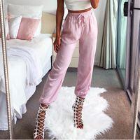 {guoran} Acheter Pantalon Femme Taille Travail Bureau Plus Rayé zdgqgx8f