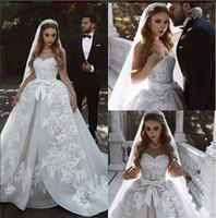 Белое шариковое платье милая кружева готическое винтажное свадебное платье Vestido de Casamento 2019 интернет-магазины Нигерия свадебные Gwons с бисером