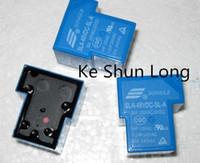 lotto Trasporto libero (5pieces / lot) 100% originale nuovo Songle SLA-48VDC-SLA SLA-48V-SLA SLA-DC48V-SLA 5pins 30A 48V DC48V 48VDC relè di potenza