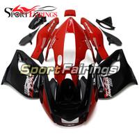 Nuevos carenados para Yamaha yzf1000r Thunderace 1997 - 2007 97 - 07 Red Black Complete Motorcycle Kit ABS Cubiertas de plástico Cubiertas de carrocería