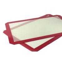 Platine anti-adhésive BHO Silicone Dab Mat Pads jar Slick Dabber Pour la cuisson Cire 16 1/2 X 11 5/8 pouces