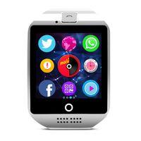 Q18 Sovo SG05 Montre intelligente avec caméra Bluetooth Smartwatch Carte SIM Montre-bracelet pour Android Phone Dispositifs portables pk dz09 A1 gt08