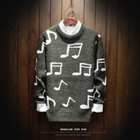 New Autumn Winter Casual Pullover Sweaters Men Outwear O- nec...